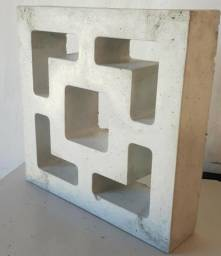 Cobogo de concreto pre moldado