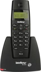 Telefone sem Fio com Identificador de Chamadas TS40ID Preto