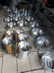 Panelões alumínio batido