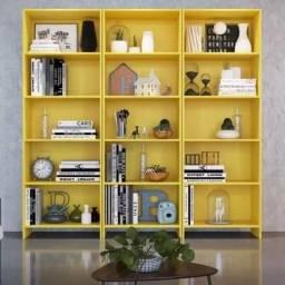 Conjunto de 3 estantes para livros moscou Q671