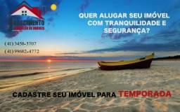 Locação Diária / Temporada em Matinhos e Pontal do Paraná