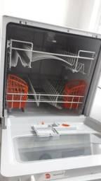 Lava Louças 8 Serviços Brastemp Compacta Branca com Ciclo Pesado