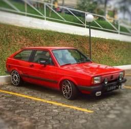 Gol GT Placa Preta no Doc - 1984