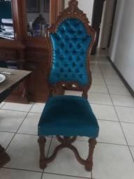 Cadeira com espaldar