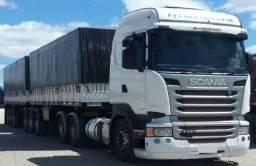 Conjunto Scania R-440 6X4 Ano 2014 - 2014