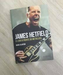 Livro James Hetfield Metallica