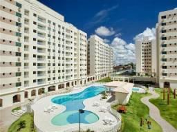 Apartamento 3/4 em condomínio fechado - Buraquinho