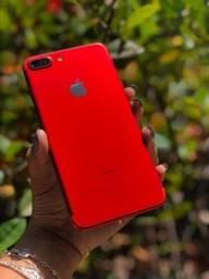 Iphone 7 plus / vermelho/ 128 gb