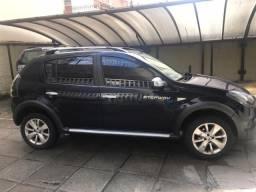 Renault sandero stepway 1,6 16v aut 5p fab/mod 12/13 part azul otimo estado - 2013