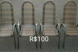 Cadeira de área 100 reais