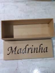 Caixa madrinhas Casamento MDF