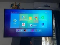 TV Led 47 Polegadas, Novinha, Perfeita + TV Box TX9 (2GB de Ram + 16 Gb de Armz)