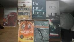 Diversos livros lacrados