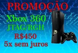 Xbox 360 Slim 4G desbloqueado JTAG em 5x sem Juros