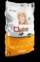 Ração Quatree Life Gatos Castrados 20 KG - Sem Transgênicos