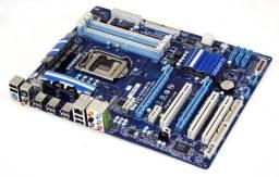 Kit Placa Mãe Gigabyte P55A-Ud3 Processador i7 860 Cooler Tx2 Kingston Ddr3L 1866Mhz