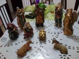 Presépio de Natal em resina