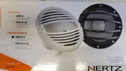 Kit com 02 Alto-Falantes Coaxiais HMX8s PowerSports Alto Falantes 8 Polegadas 200W