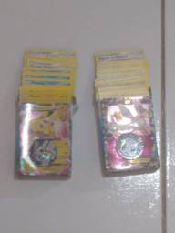 Cartas pokémon deck Pikachu e Eevee