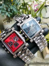 Relógios Oakley Machine + Caixa Brinde