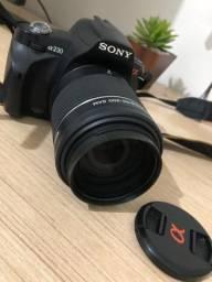 Câmera profissional Sony Canon