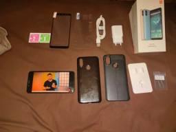 Xiaomi Mi A2 6gb + 128gb com acessórios