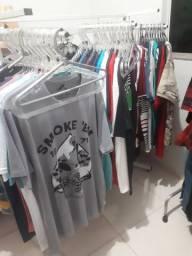 Estoque de roupas