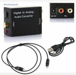Conversar de áudio Digital para Analógico 60,00