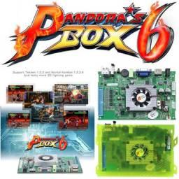 Título do anúncio: Pandora box 6 Família Versão 1300 jogos pode adicionar 3000 jogos de suporte fba mame ps1
