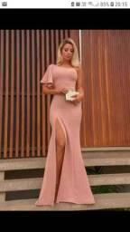 vestido Rose Tam M 135 reais