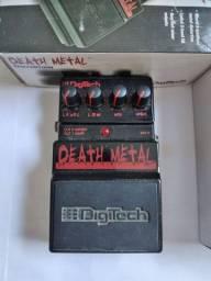Pedal de distorção High Gain Digitech Death Metal