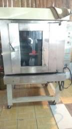 4.800 forno turbo 220 e refrigerador