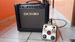 Amplificador Meteoro Nitrous drive 30W + Pedaleira  Zomm G1 next