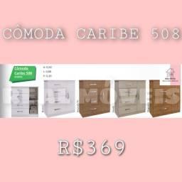 Cômoda cômoda cômoda caribe 508