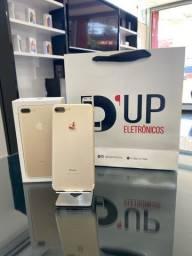 IPhone 7 Plus 32GB Dourado , seminovo com marcas de uso , saúde da bateria 80%