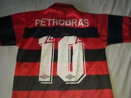 Flamengo tamanho 12 anos.