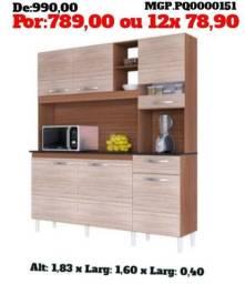 Cozinha Grande = Kit de Cozinha - Armario de Cozinha - Promoção MS