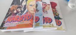 HQs Naruto Gold 8, Gold 24, Gold 30 e Galden