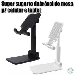Super suporte dobrável de mesa para celular e tablet