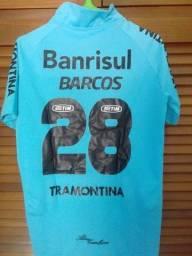 Camisa Grêmio Celeste #28 Barcos