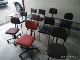 Lote Cadeiras escritório (todas por 150)