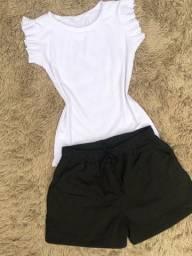 Shorts em Linho