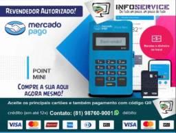 Point Mini Mercado Pago, Maquineta, Maquininha, Máquina de cartão