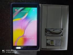 Tablete Samsung novo na caixa com carregador