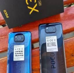Título do anúncio: Poco X3 Azul/Cinza NFC 8+128Gb