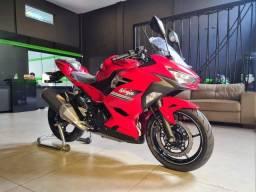 ninja 400 vermelha a pronto entrega