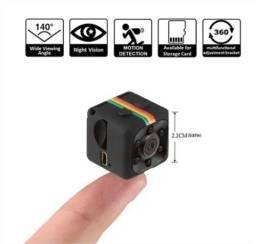 Mini Câmera Espiã Sq11 Visão Noturna e Imagem em HD