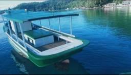 Título do anúncio: Barco de madeira Traineira 21