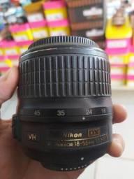 Lente Nikon 18-55mm funcionando perfeitamente