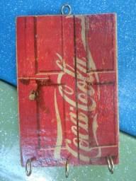 Porta-chaves Garrafa Coca-Cola